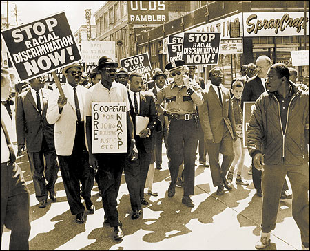 Civil Rights Protestors in Seattle, Summer 1963