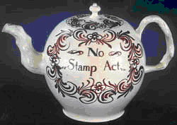 Stamp Act Tea Pot