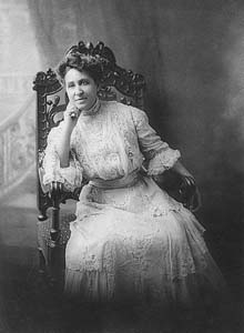 Mary Church Terrell, Three-Quarter Length Portrait, Seated, Facing Front.