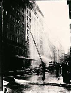 Fighting the Triangle Fire, March 25, 1911